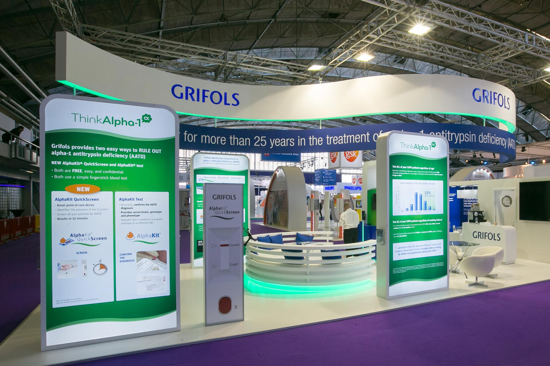 GRIFOLS ERS Amsterdam 2015 - PRO EXPO Exhibition Stand