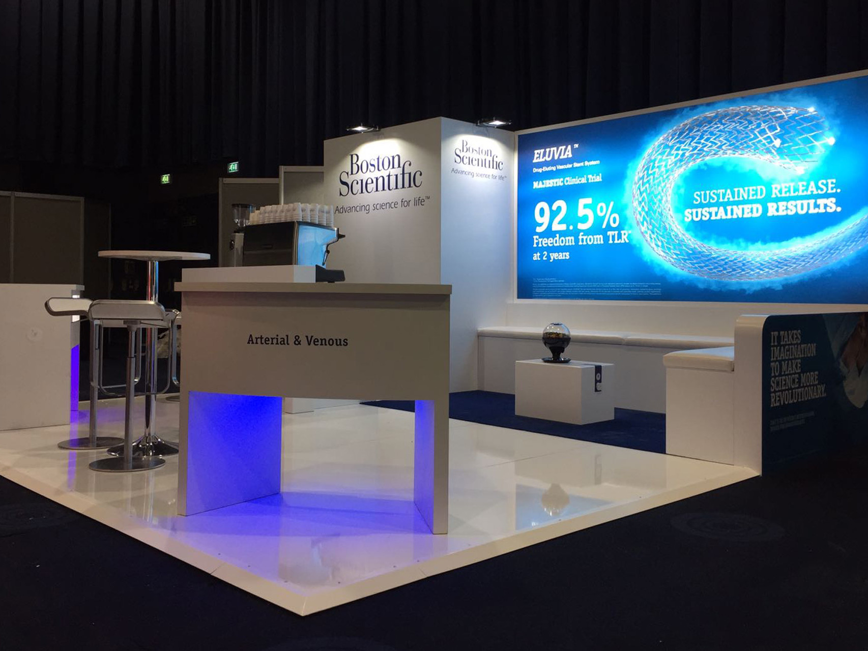 exhibition stand boston scientific