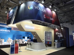 exhibition stand Voluum.