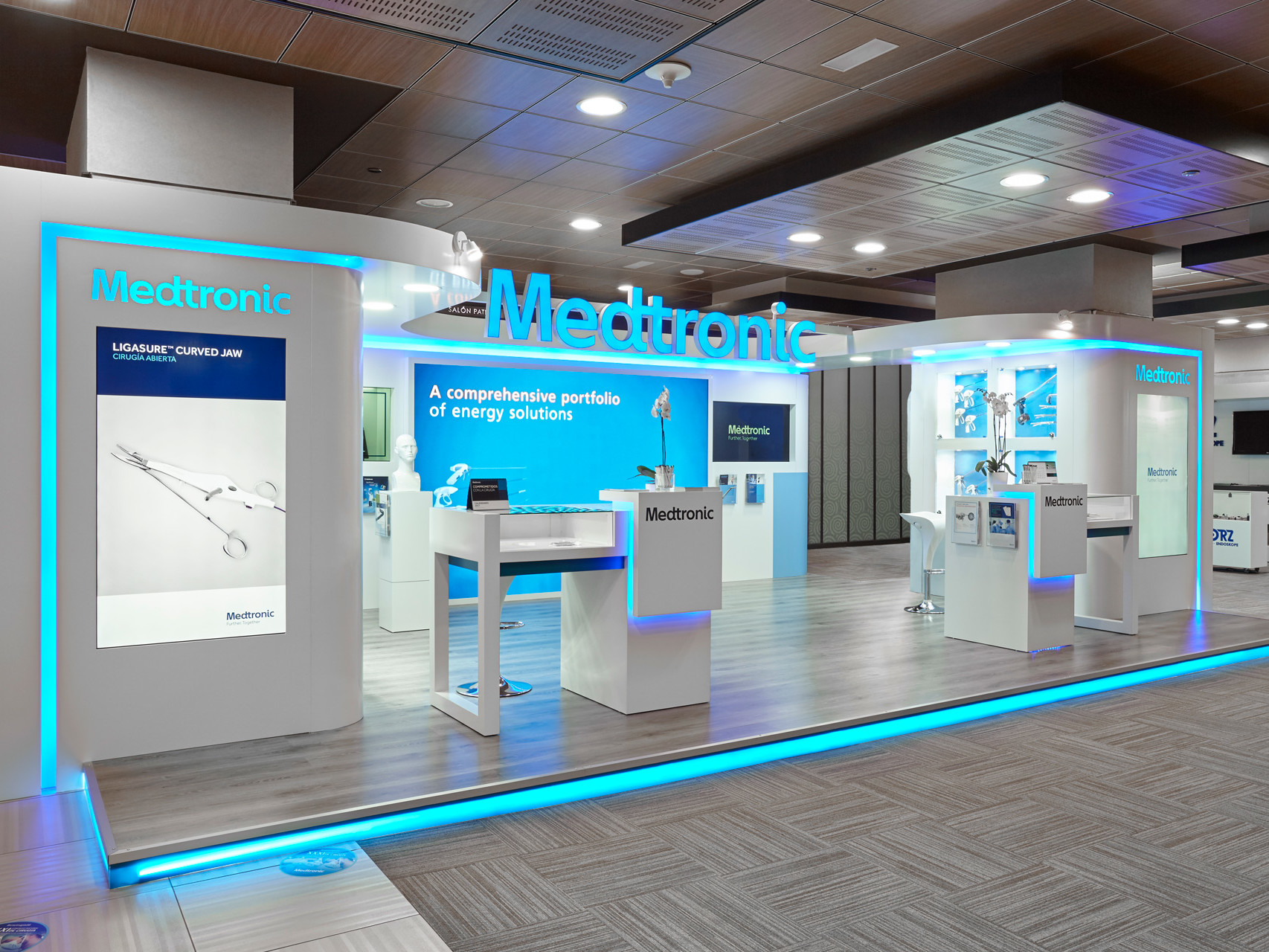 exhibition stand medtronic