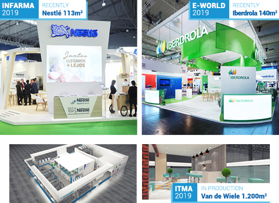 Some of Our Recent Projects- Nestlé and Iberdrola!