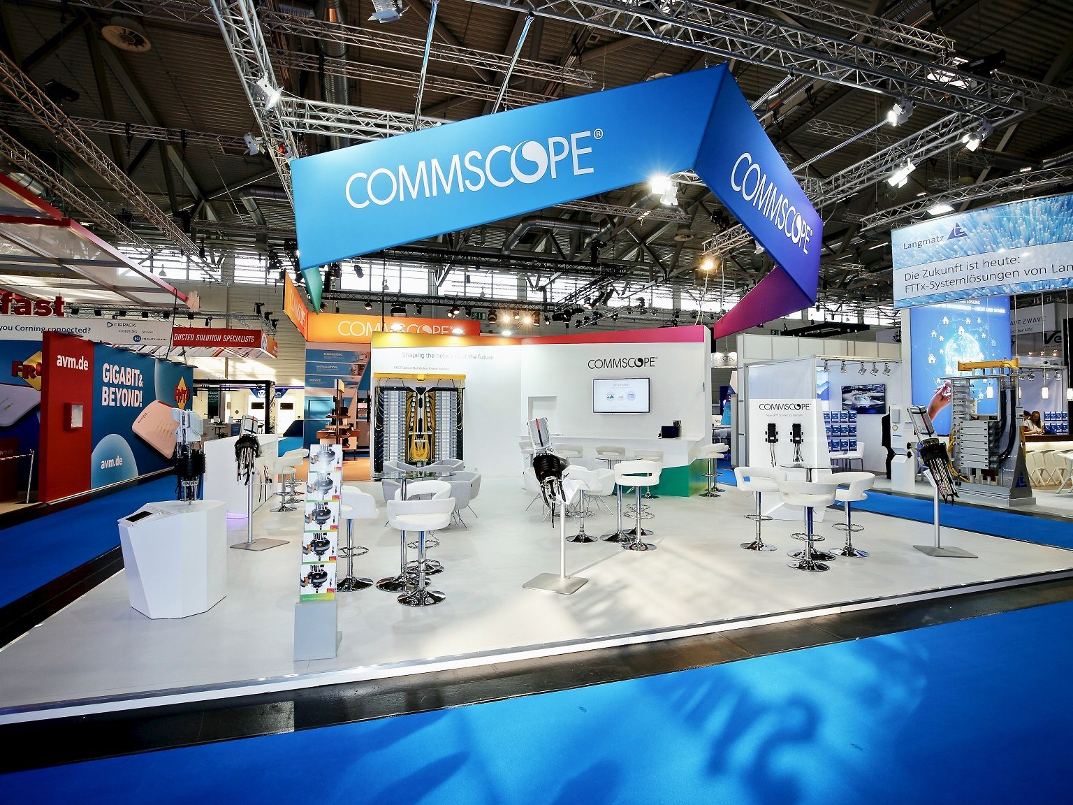 Pro Expo Communication Stands Events : Exhibition stand design and building barcelona pro expo