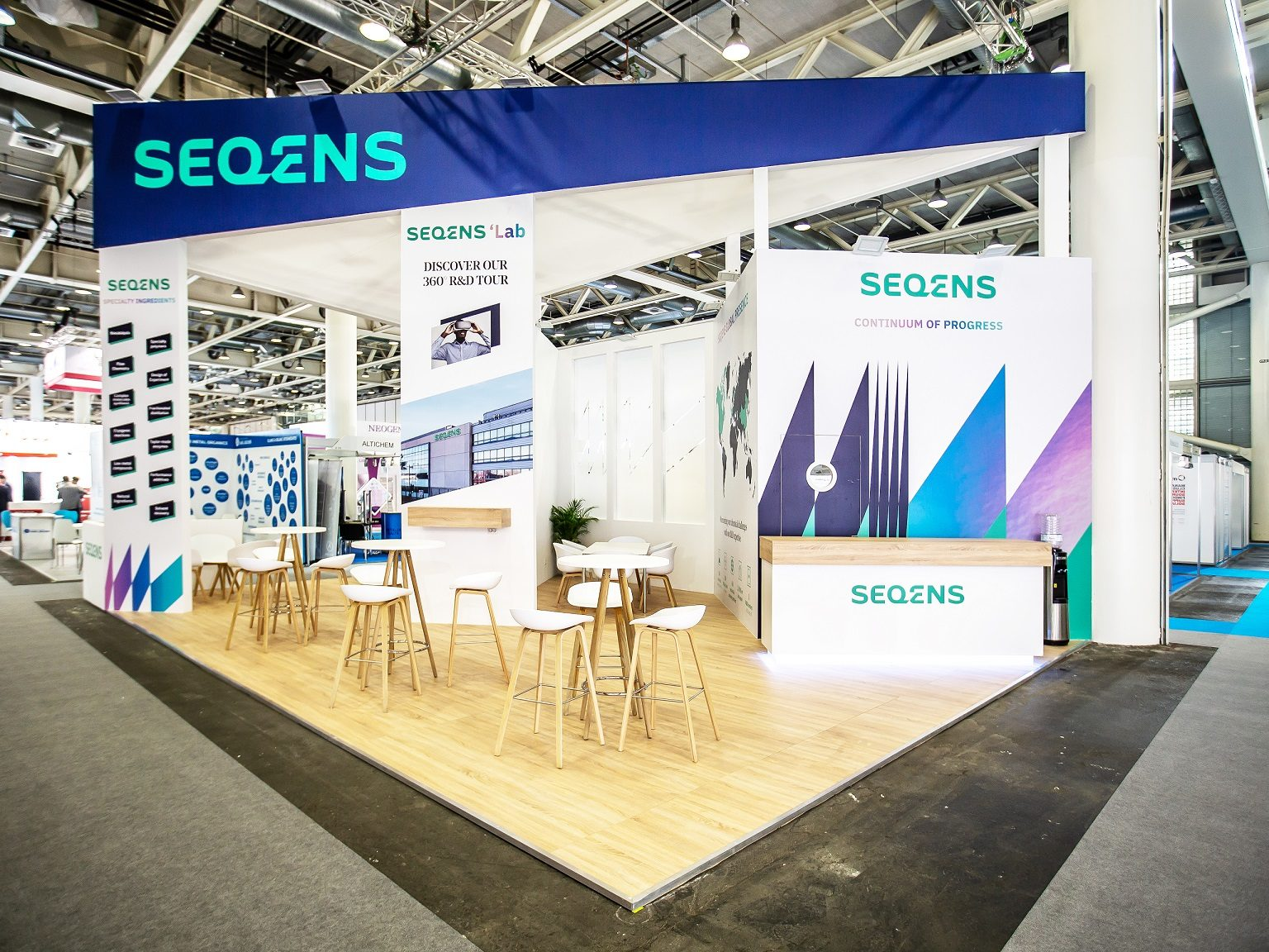 Projects of exhibition stands design building - Portfolio ProExpo