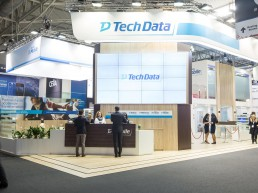 exhibition stand Tech Data