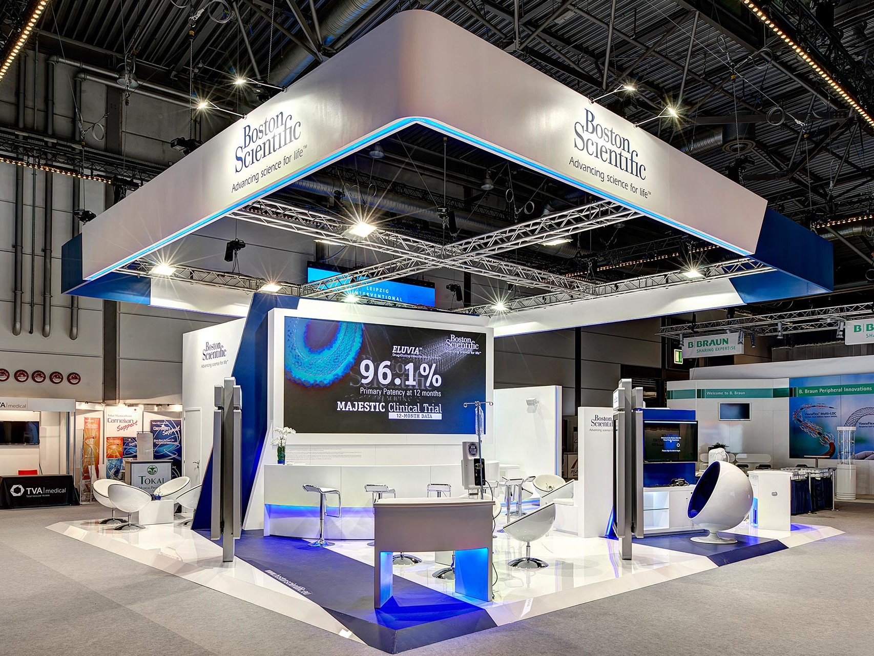 Exhibition Stand Portfolio : Boston scientific exhibition stands portfolio pro expo