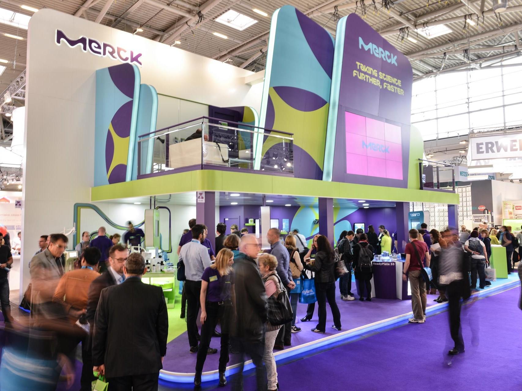 exhibition stand Merk.