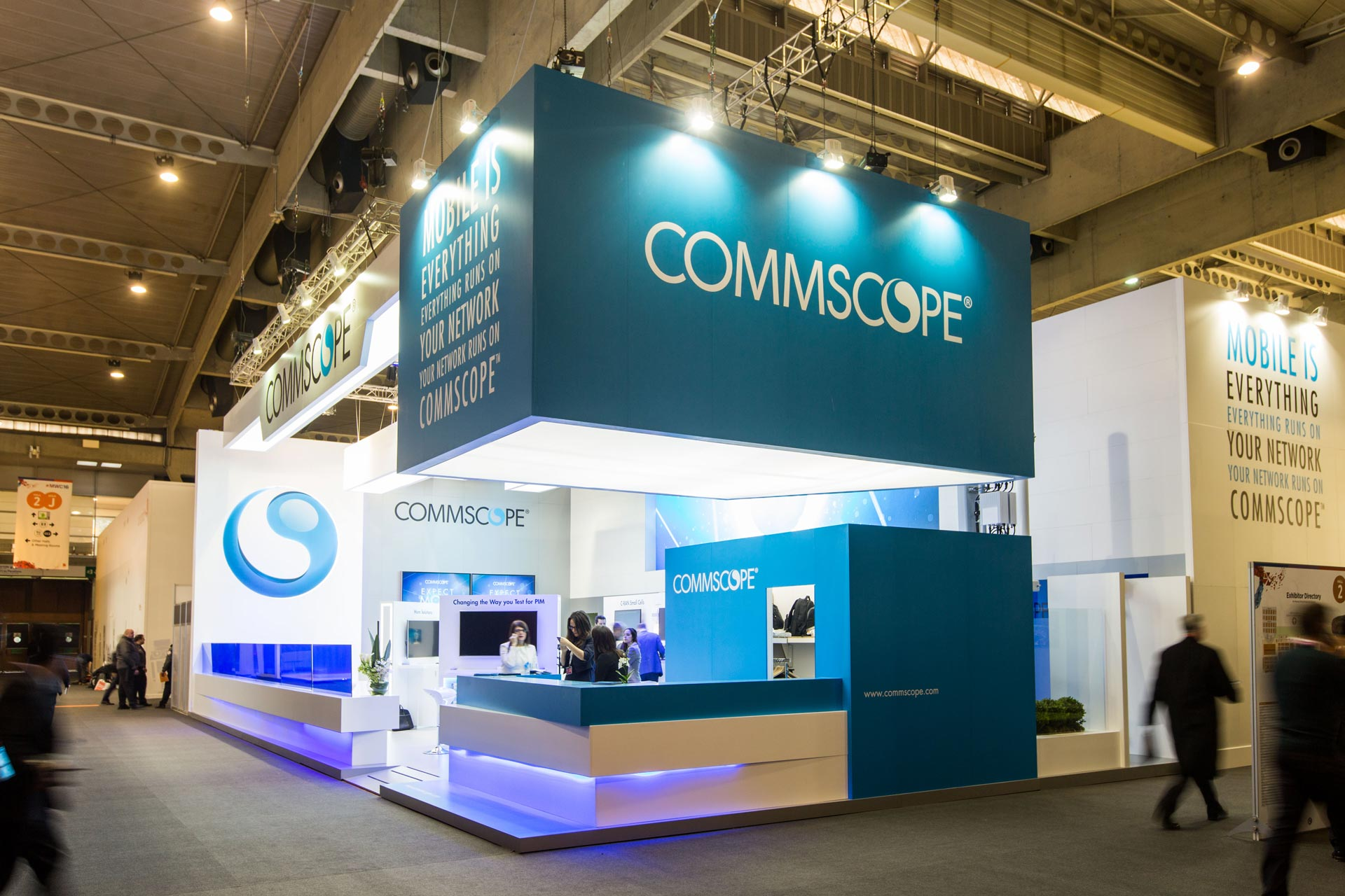 Exhibition Stand Terms And Conditions : Commscope mwc barcelona pro expo exhibition stand