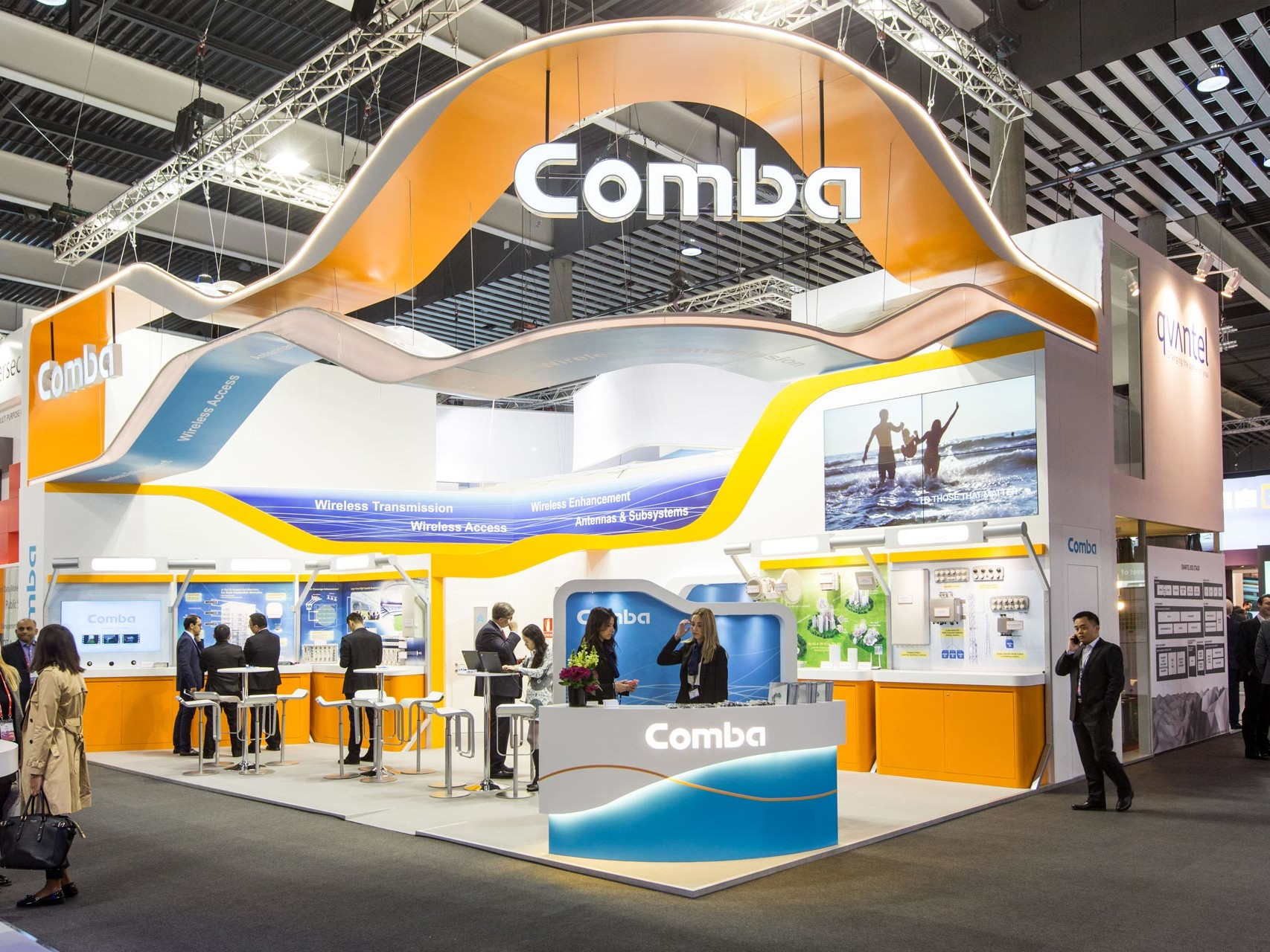 exhibition stand Comba