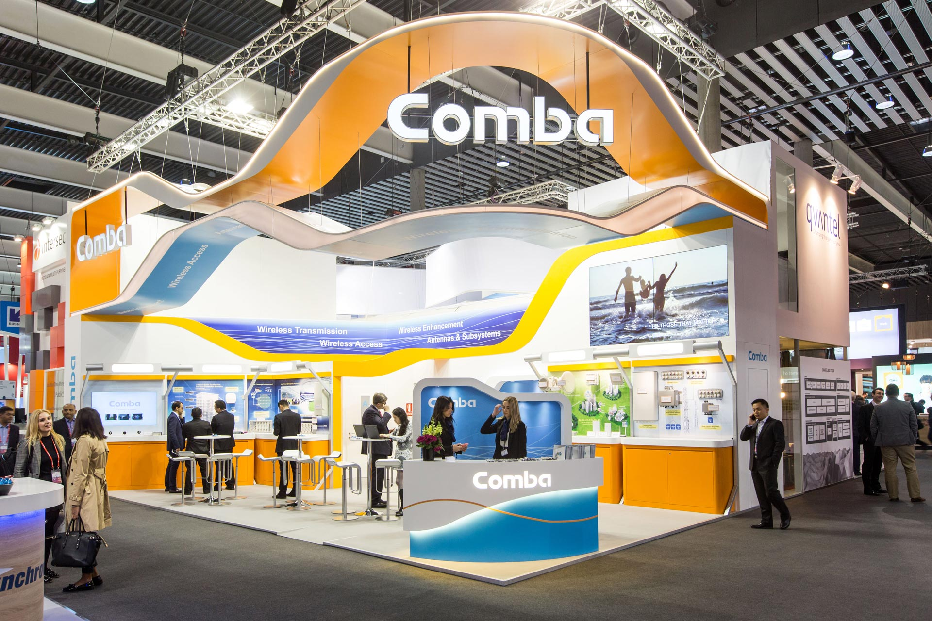 Comba mwc barcelona 2016 pro expo exhibition stand for Expo barcelona