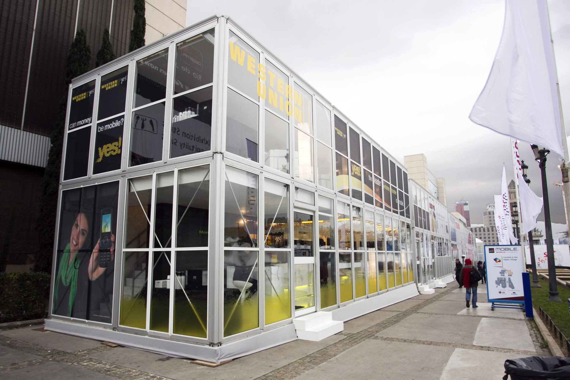 Western union mwc barcelona 2015 proexpo exhibition stand for Oficinas western union en barcelona