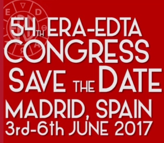 Madrid is to Host the Next Edition of ERA-EDTA