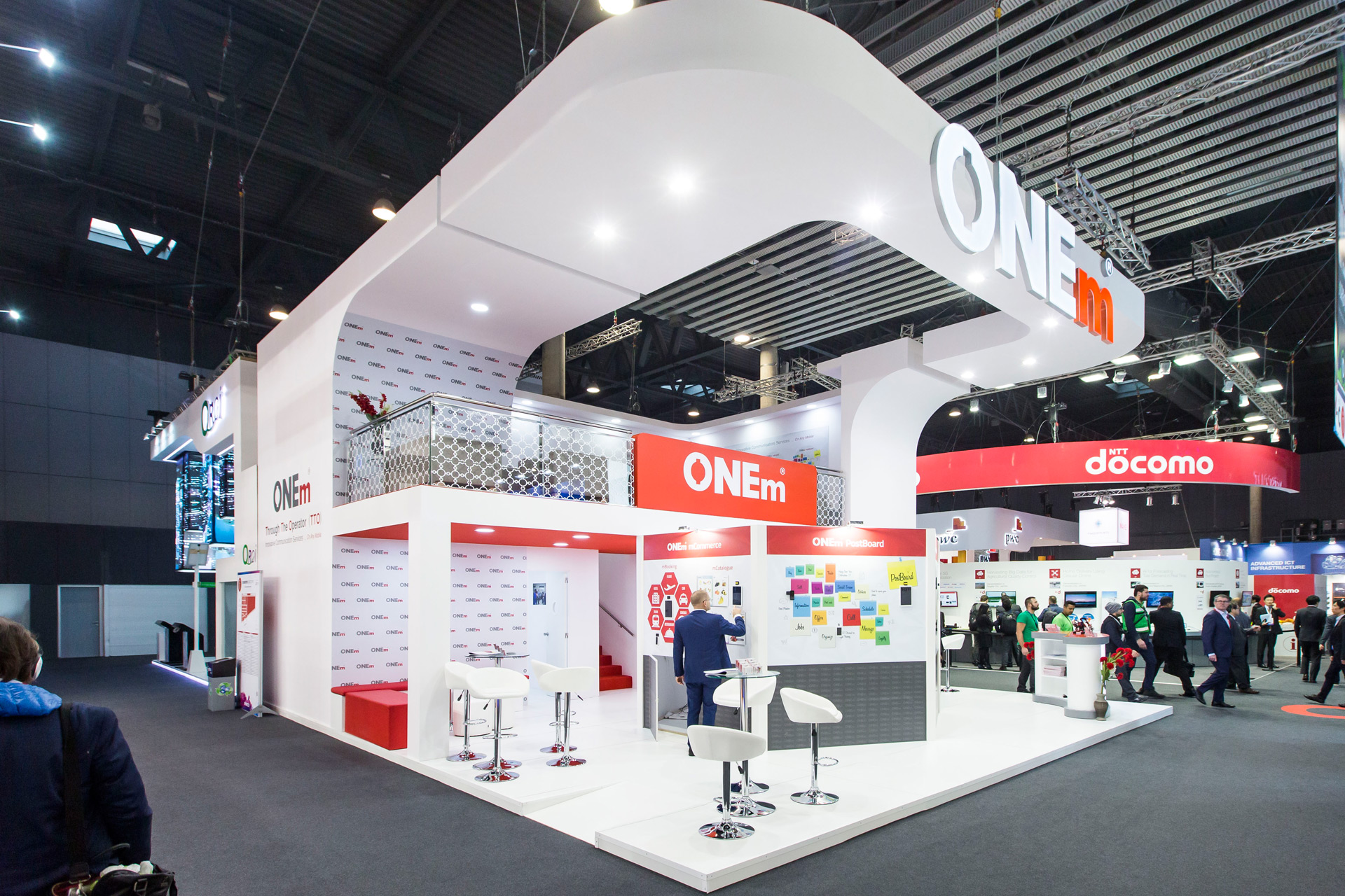 Exhibition Stand Design Barcelona : One m mwc barcelona pro expo exhibition stand