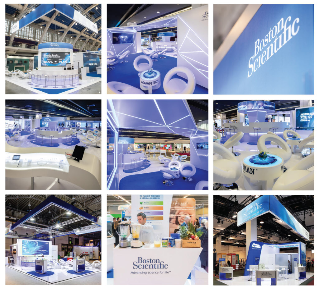 PRO EXPO offical booth agency for BOSTON SCIENTIFIC