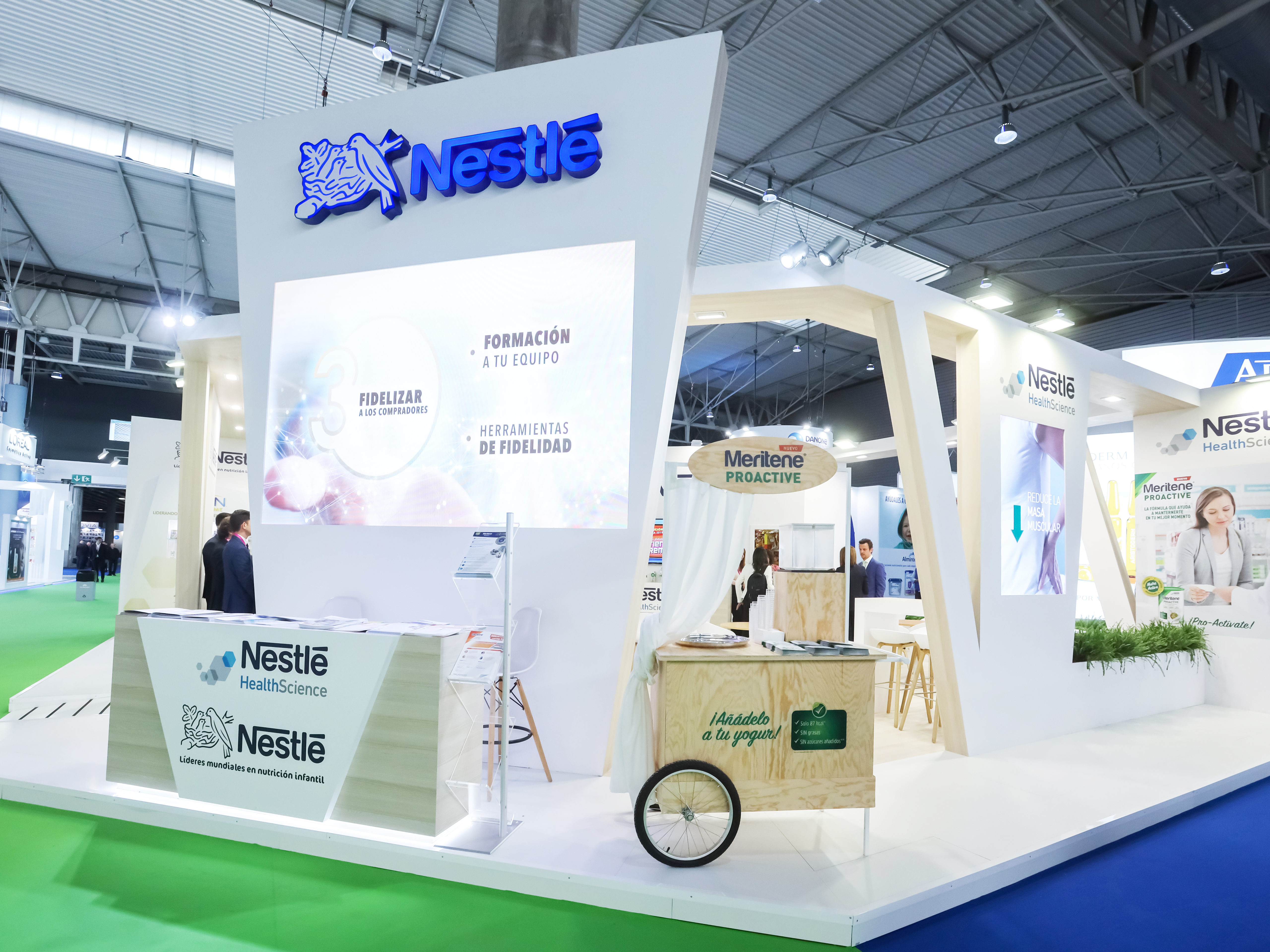 Exhibition Booth In Spanish : Exhibition stand design and building barcelona pro expo