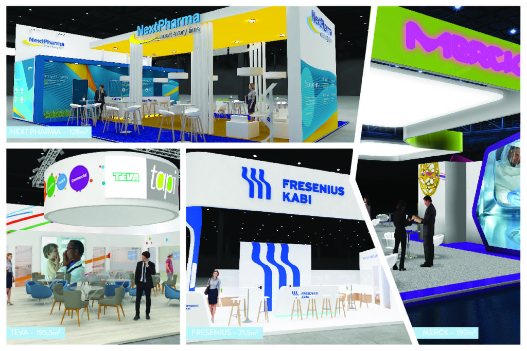 PRO EXPO stands @ CPhI 2018 – Madrid
