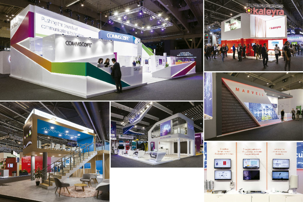 Stand Supplier for MWC, we design and build with local prices, local teams!