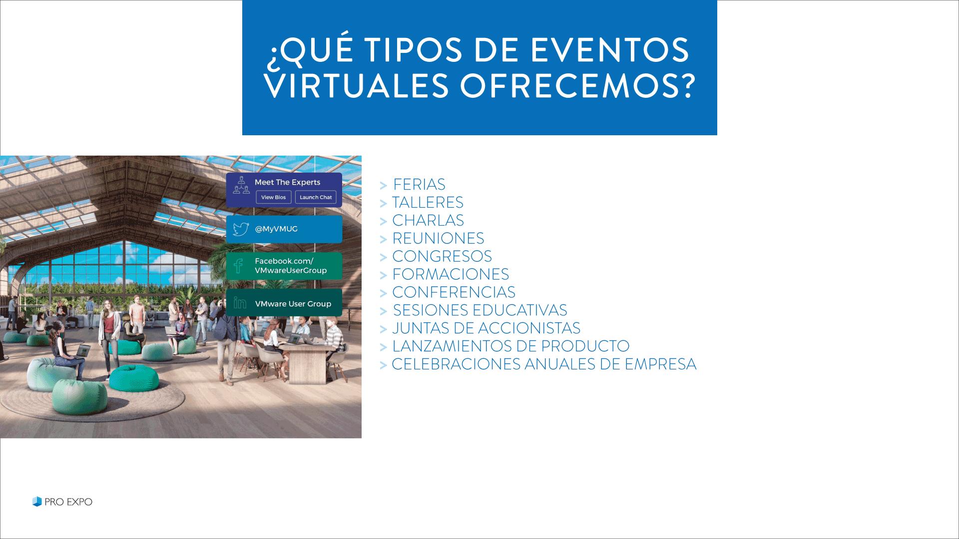 Eventos Virtuales para empresas