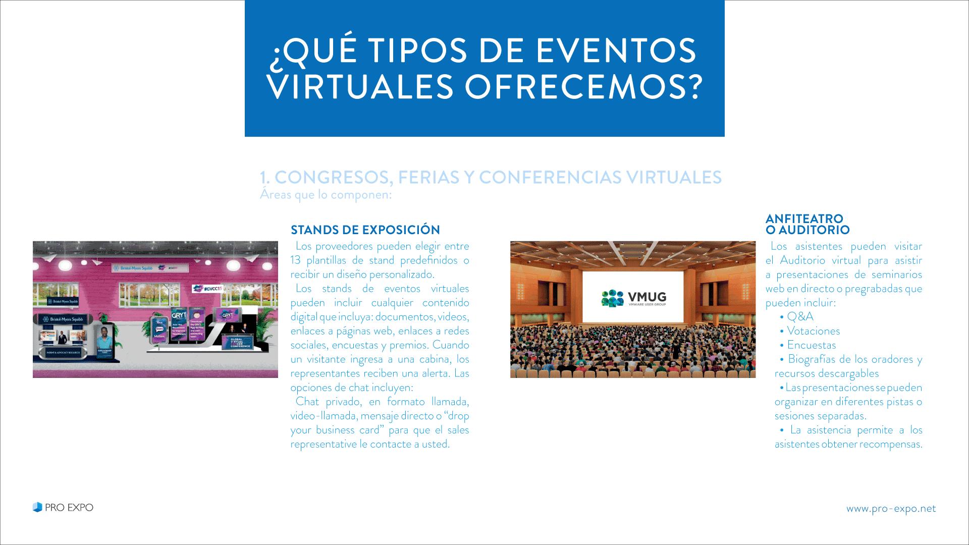 Eventos Virtuales para marcas