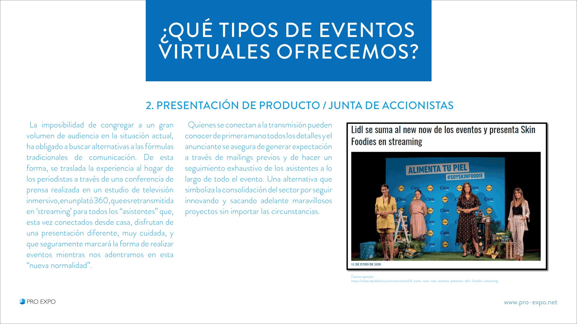 Eventos Online para empresas
