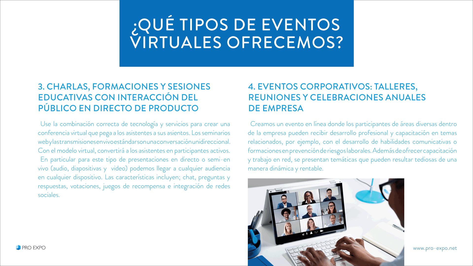 Eventos Digitales para empresas