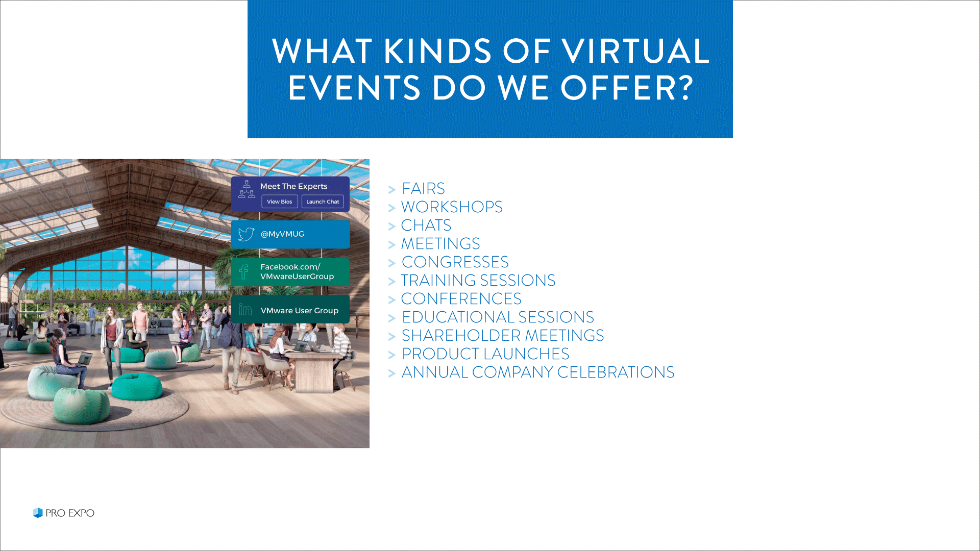 Virtual Events for business