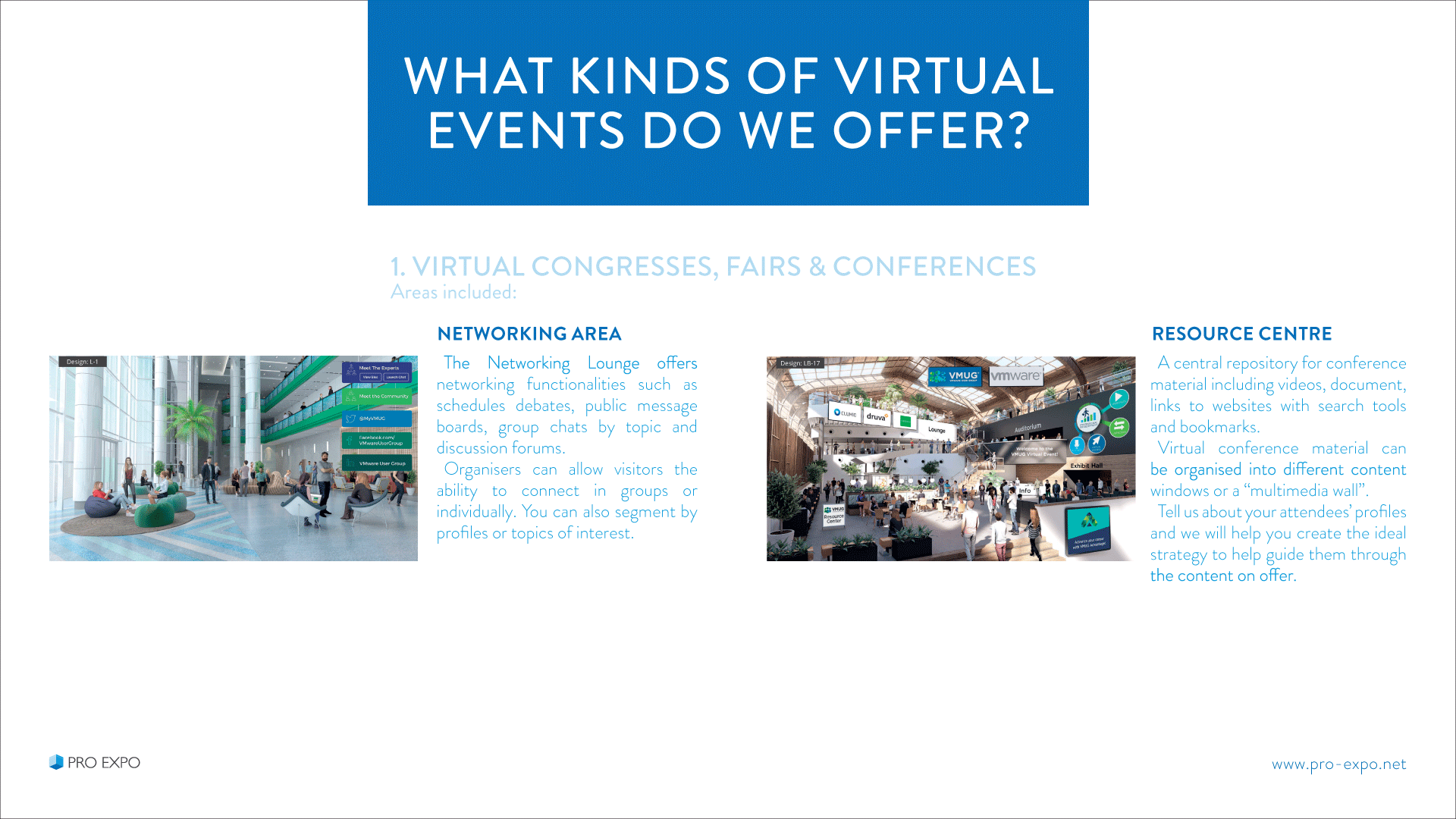 Virtual Events Technology