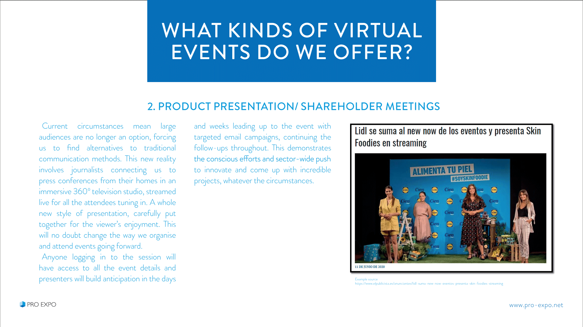 Events virtual